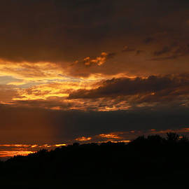 Dramatic Sunset by Scott Hovind