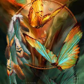 Dream Catcher - Spirit Of The Butterfly by Carol Cavalaris