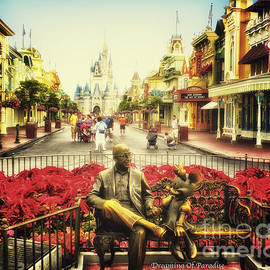 Dreaming Of Paradise Walt Disney World by Thomas Woolworth