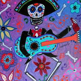 Pristine Cartera Turkus - Drinking Mariachi Dia De Los Muertos