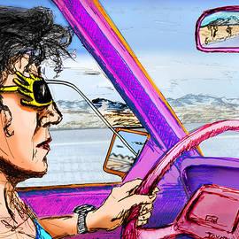 Del Gaizo - Driving Through Arizona