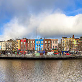 Dublin Ireland Panorama by Mark Tisdale