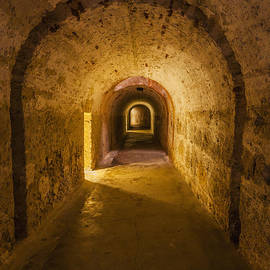 Dungeon At Castillo San Cristobal In Old San Juan Puerto Rico by Bryan Mullennix