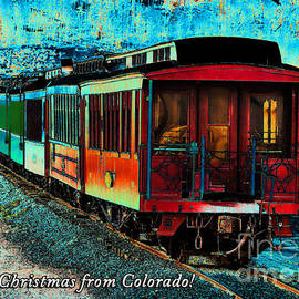Durango Colorado Christmas by Janice Pariza