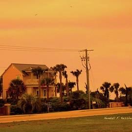 Dusk At Isle Of Palms by Kendall Kessler