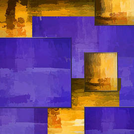 Larry Bishop - Duvet in Purple and Gold