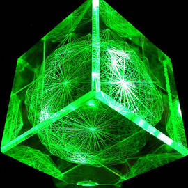 J Gregory Moxness - E8 Laser Etched in Optical Crystal