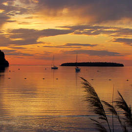 David T Wilkinson - Eagle Harbor Sunset 2