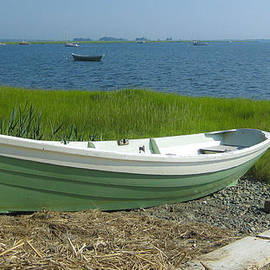 David Stone - Eagle Hill Dory on a Summer Morning