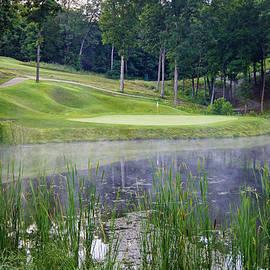 Cricket Hackmann - Eagle Knoll - Hole Fourteen - Mist on the Lake