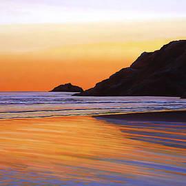 Earth Sunrise Sea by Paul Meijering