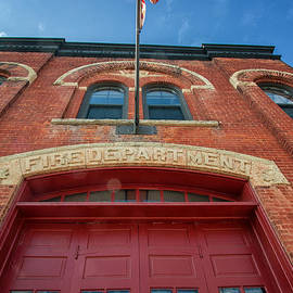 East End Fire Station Looking Up by Kari Yearous