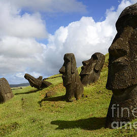 Easter Island 1 by Bob Christopher