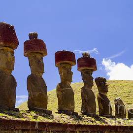 David Smith - Easter Island Statues