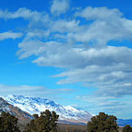 Eastern Sierras Panoramic - U S 395 California by Glenn McCarthy Art and Photography