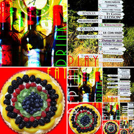 Wingsdomain Art and Photography - Eat Drink Play Repeat Wine Country 20140713 v3