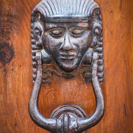 Egyptian Door Knocker by William Krumpelman