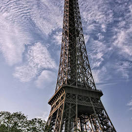 Eiffel and Clouds by Timothy Hacker