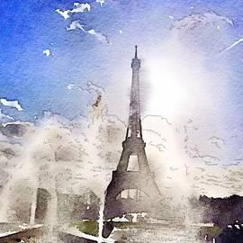 Eiffel during summer by HELGE Art Gallery