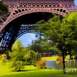 Eiffel Tower 1 by Phil Robinson