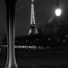 Eiffel Tower at Night by Brian Sotak