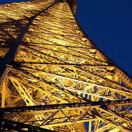 Eiffel Tower at Night by Ivete Basso Photography