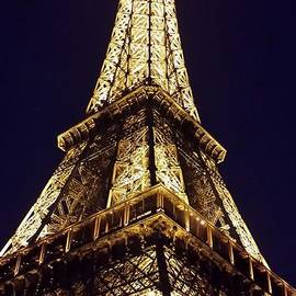 Eiffel Tower At Night by Patricia Awapara