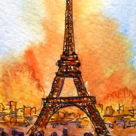 Eiffel Tower by Cristina Stefan