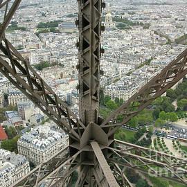 Eiffel Tower Descent by Ann Horn