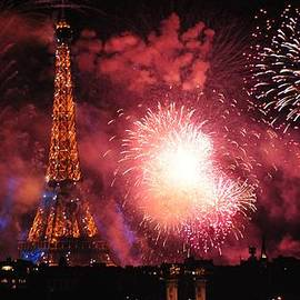 Eiffel Tower in all Her Splendor by Csilla Florida