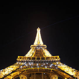 Eiffel Tower in Paris France by Michael Graham