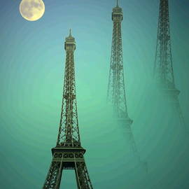Eiffel Tower by Joyce Dickens