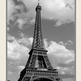 Eiffel Tower  Paris France by Ivete Basso Photography