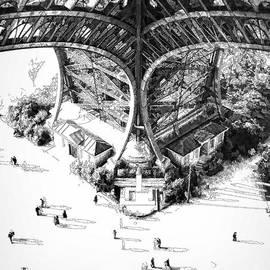 Eiffel Tower Paris by Peter Sandilands