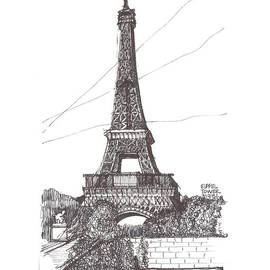 Eiffel Tower by Ron Torborg