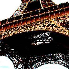 Eiffel Tower - Splashes of Color by Carol Groenen