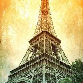 Eiffel Tower Warmth by Carol Groenen