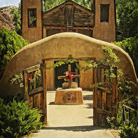 El Sanctuario de Chimayo by Priscilla Burgers