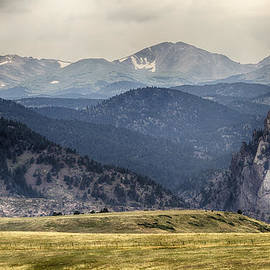 James BO  Insogna - Eldorado Canyon and Continental Divide Above