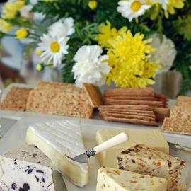 Elegant Cheese Buffet by Connie Fox