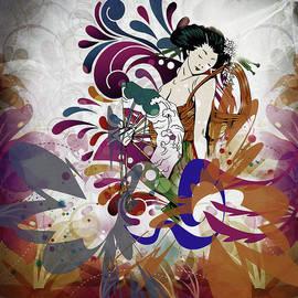 Georgiana Romanovna - Elegant Geisha Girl