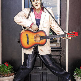 Elvis on Route 66 by Janice Pariza