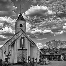 Elvis Presley Chapel at the Superstitions by Saija  Lehtonen