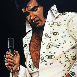 Elvis Presley Painting by Paul Meijering