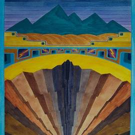 Gary Rowell - Emerald Escarpment