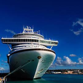 Emerald Princess Docked in Barbados by AE Jones