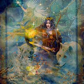 Steve Roberts - Angel Tarot Card Enchanted Princess