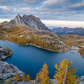 Enchantments Fall Splendor by Mike Reid