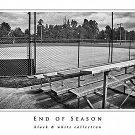 Greg Jackson - End of Season  black and white collection