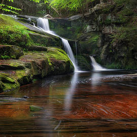 Enders Falls Portrait by Bill Wakeley